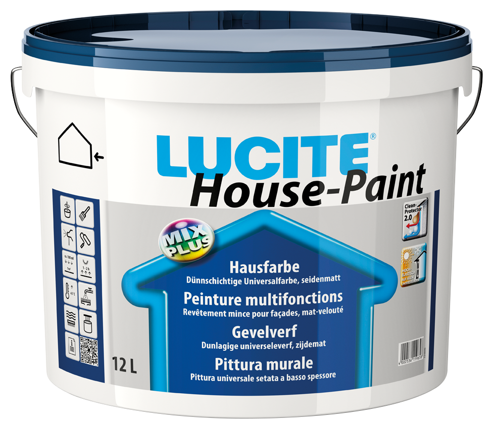 Lucite HOUSE PAINT MIX  DT 0 TR  1L